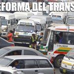¿Y la reforma de transporte?