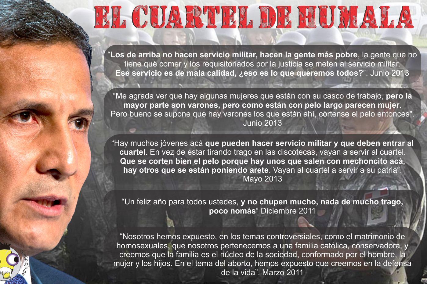 Ojo al Piojo - El cuartel de Humala