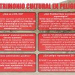 ¿Patrimonio cultural en peligro?