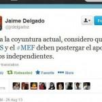 Reportaje: Los trabajadores independientes y el inefable congresista Delgado