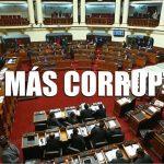 Congreso de la República, el más corrupto