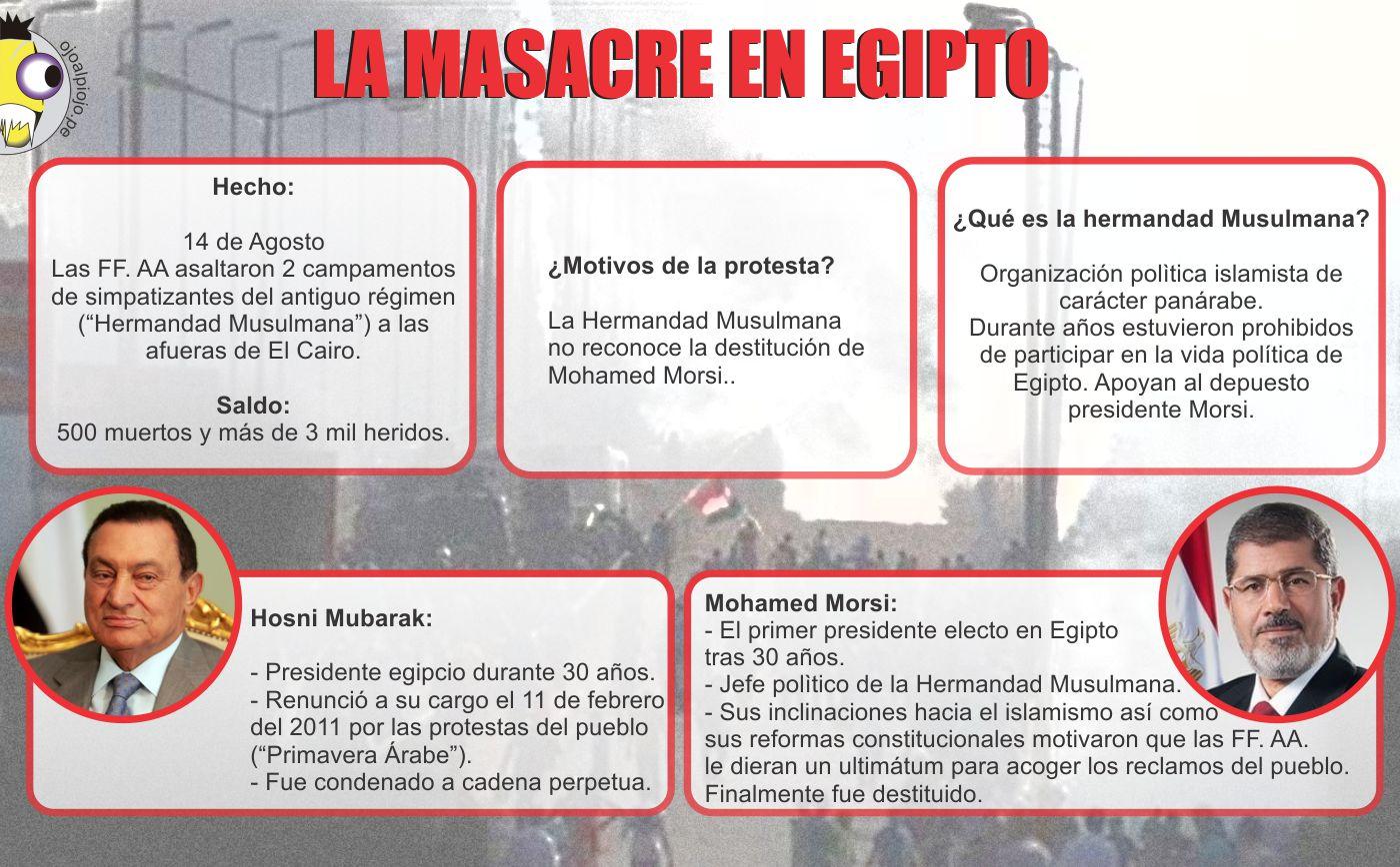 Ojo al Piojo - Masacre en Egipto