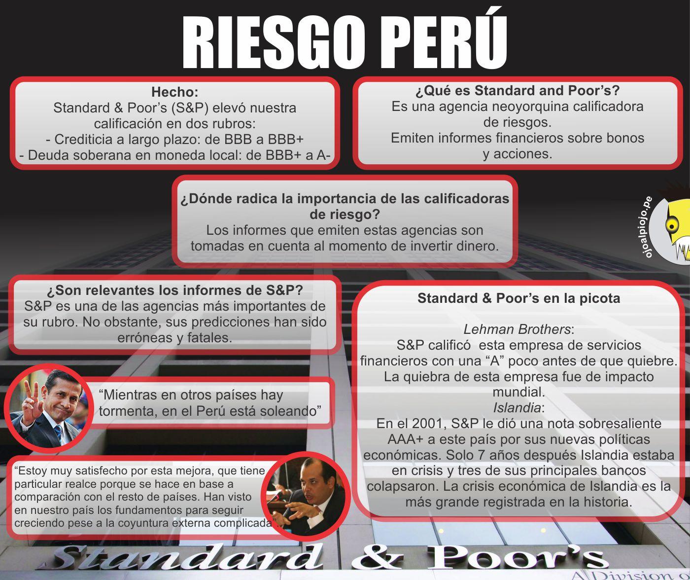 Ojo al Piojo - Standard & Poor's