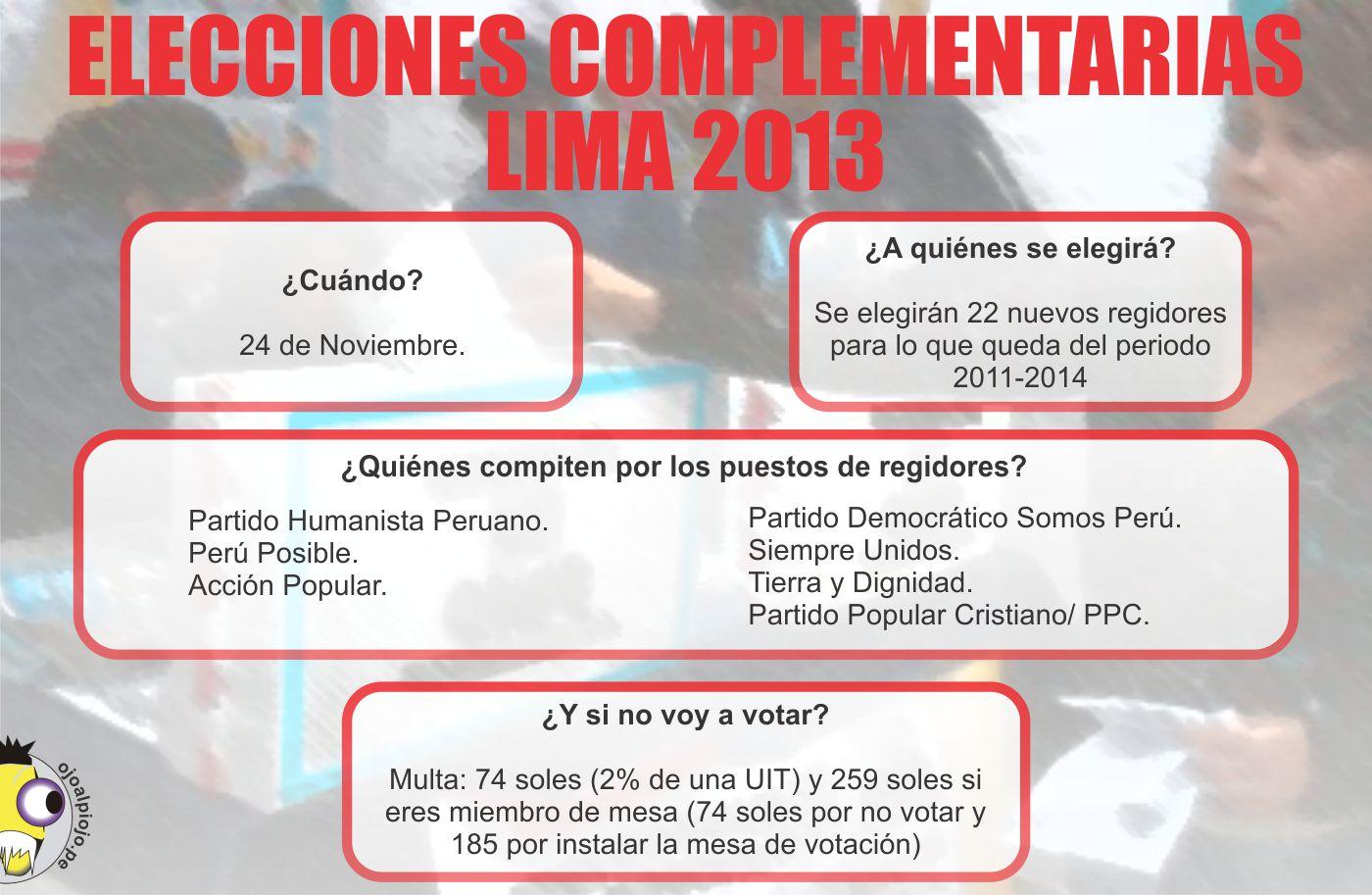 Ojo al Piojo - Elecciones 2013