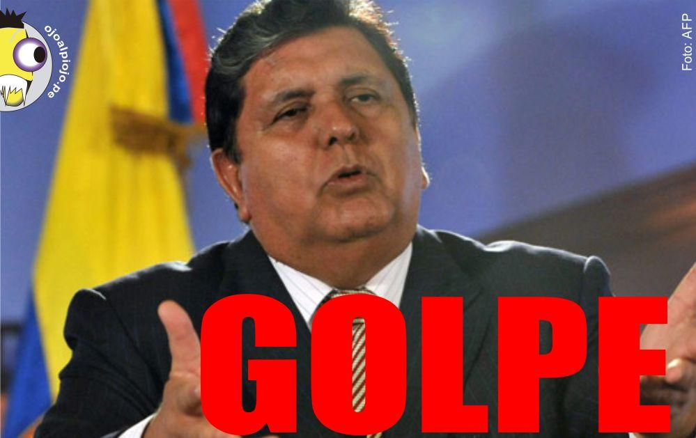 Ojo al Piojo - Alan García - Golpe de Estado