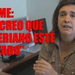 """Cecilia Blume: """"Los viceministros también tienen responsabilidad política"""""""