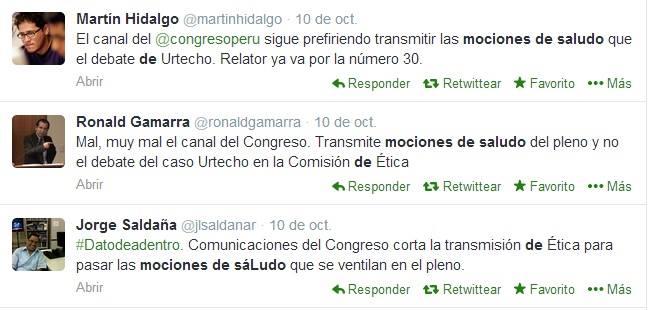 Ojo al Piojo - Twitter - Congreso