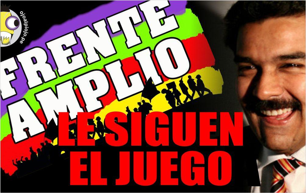 Ojo al piojo - Frente amplio - Nicolas Maduro