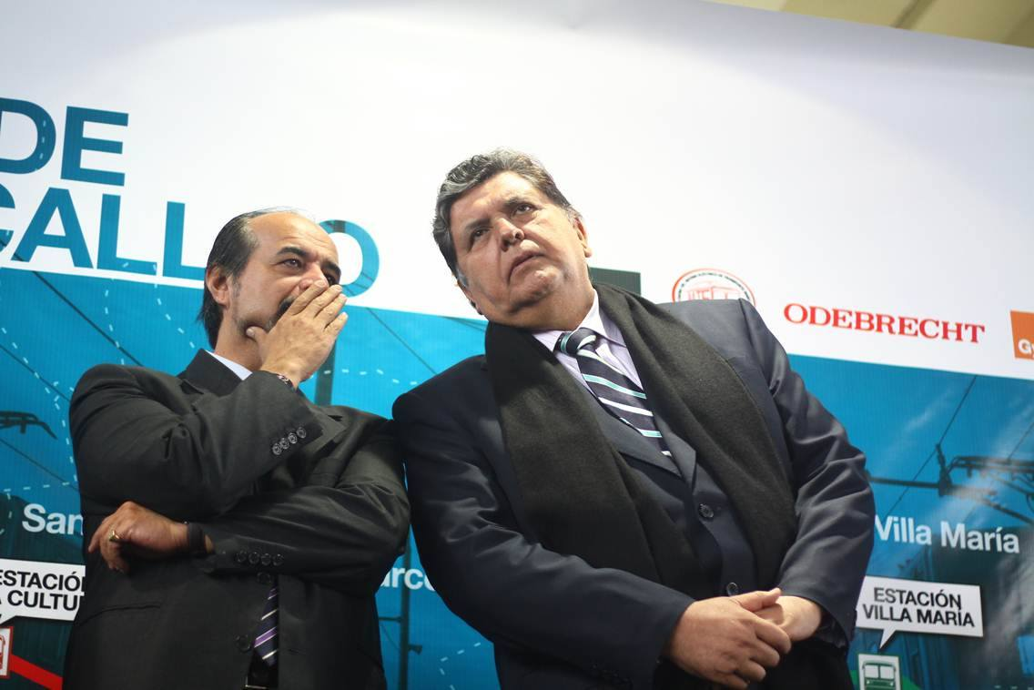 """-""""Alan ya tenemos la resolución del quinto juzgado, ya no tendremos que hilar fino en el Congreso"""" Foto: Diario 16"""