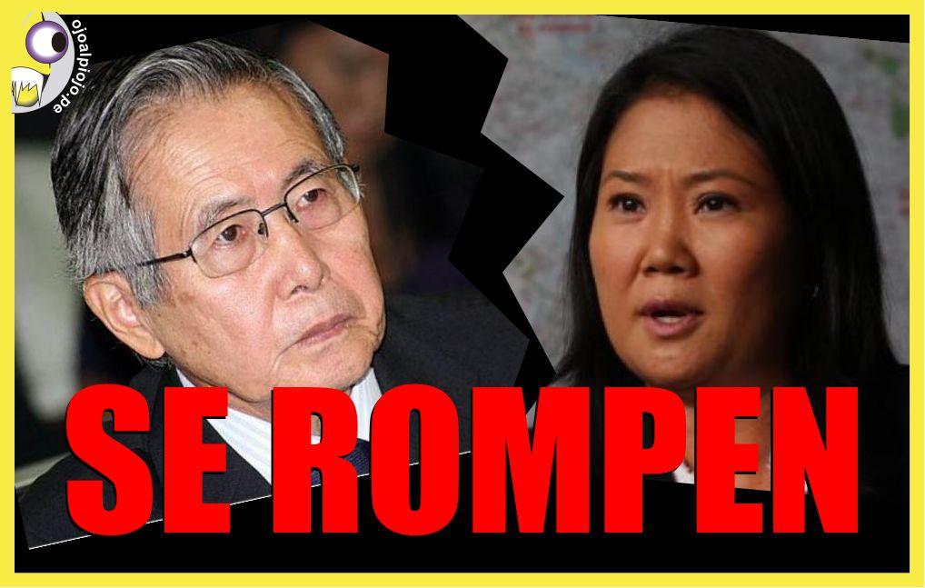 Ojo al Piojo - Fujimorismo se rompe