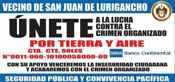 ¿O sea que ahora vamos a darle plata a este delincuente? asegurón un vecino de San Juan de Lurigancho.  Imagen: Twitter