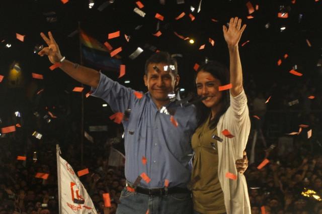 Peru - Presidential Elections - Ollanta Humala Wins