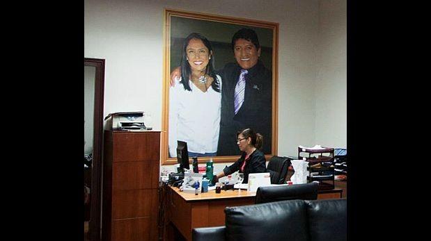 Foto con la presidenta... del partido