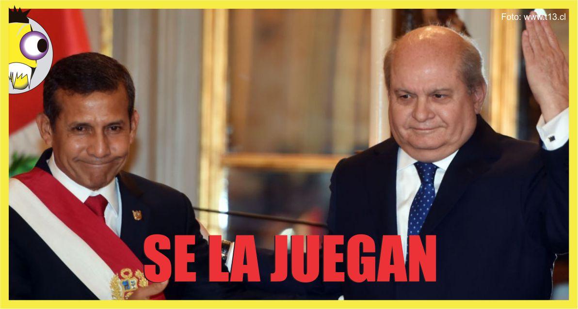 Ojo al Piojo - Pedro Cateriano Ollanta Humala