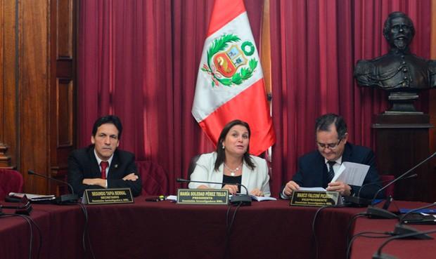 La comisión salió con todo. Foto: La República