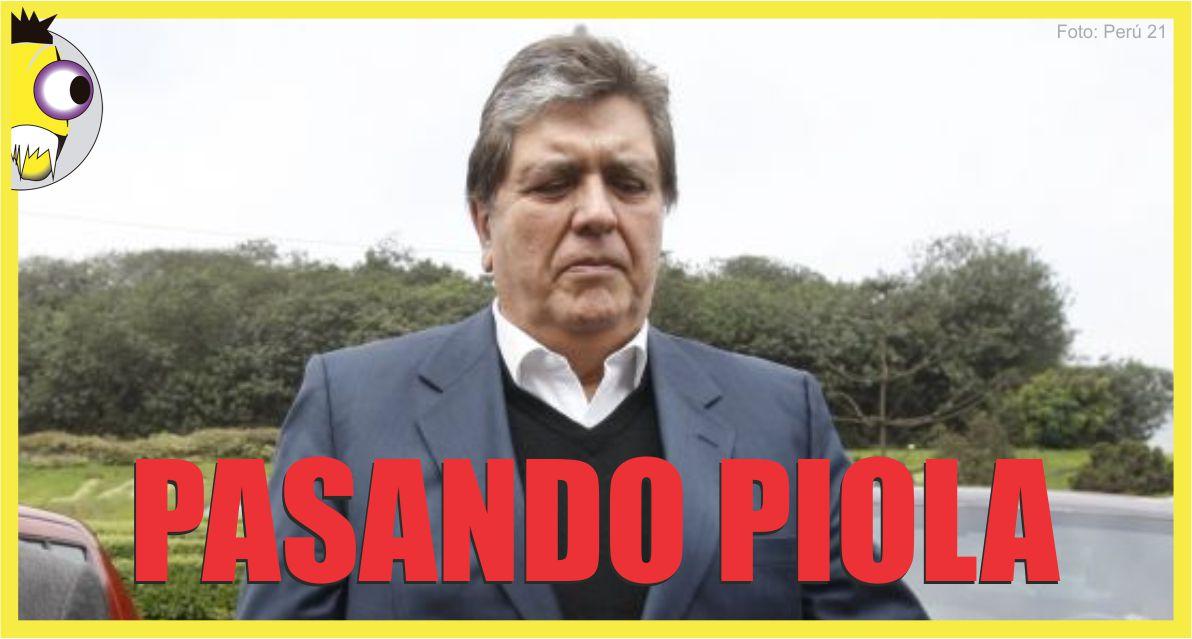 Ojo al Piojo - Alan García Narcoindultos