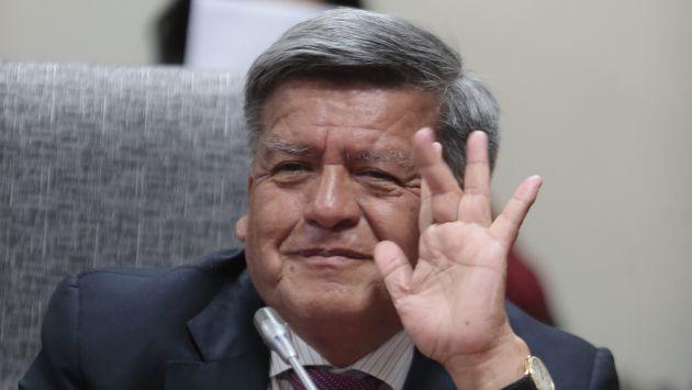Adiós a la oportunidad de ser presidente. Fuente: Perú21