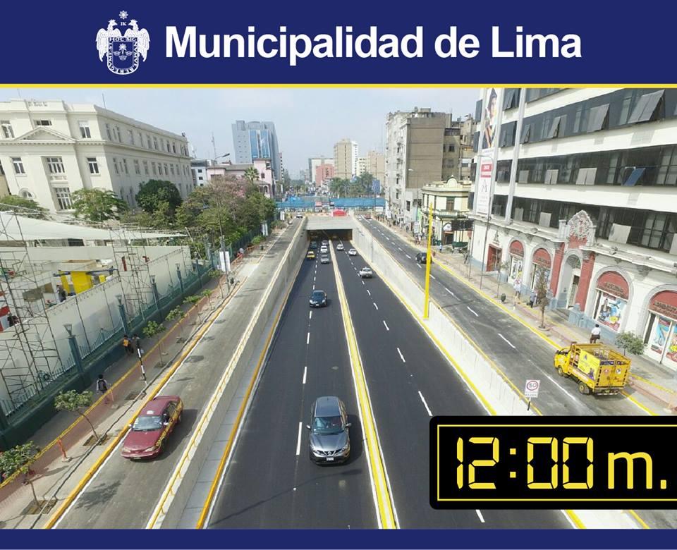 No pues Castañeda, tampoco nos engañes así. Fuente: Facebook Municipalidad Metropolitana de Lima