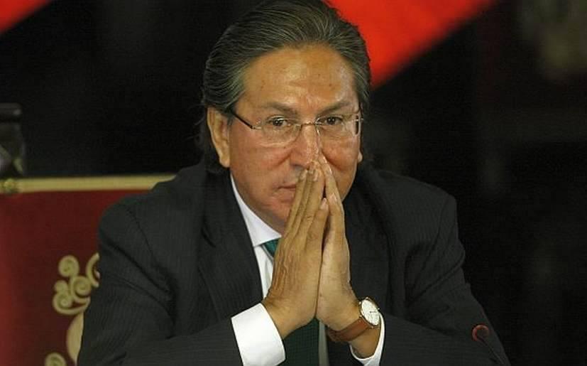 Parece que el ex presidente está un poco preocupado por las encuestas. Fuente: rosamariapalcios.pe