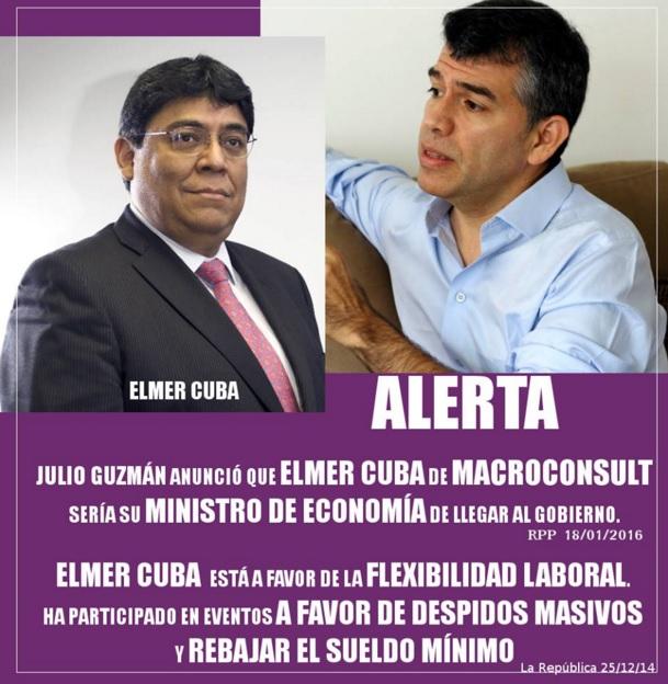 ¡Menos mal que no participó en la campaña de Guzmán! Fuente: útero.pe