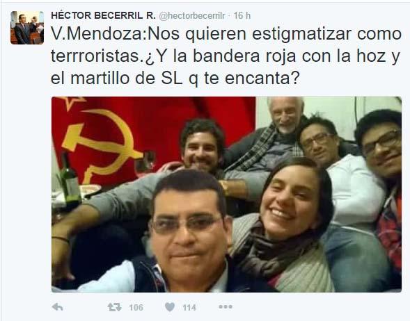 Casi Becerril, casi Fuente: Twitter Héctor Becerril