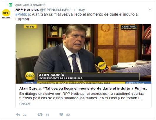 Ojo al Piojo - Alan García
